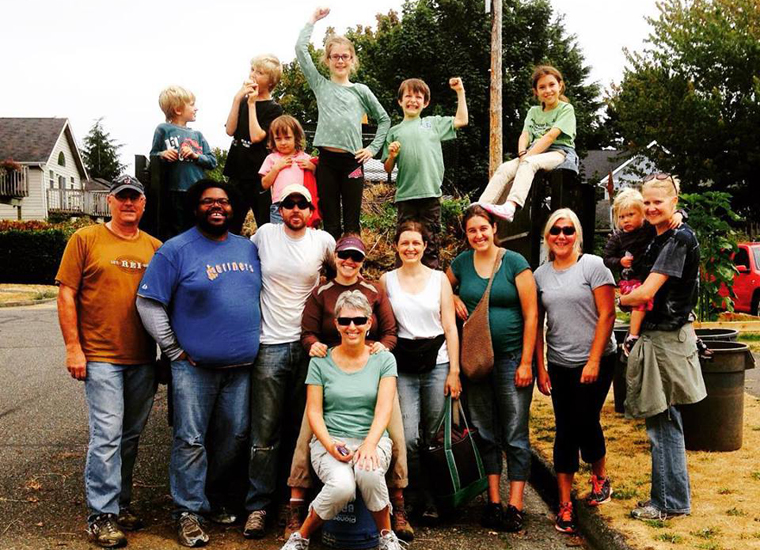 2 Group photo Trail work