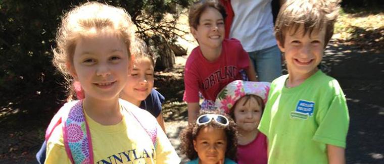 g Kids Trail Work